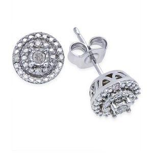 Macy's Diamond Stud Earrings